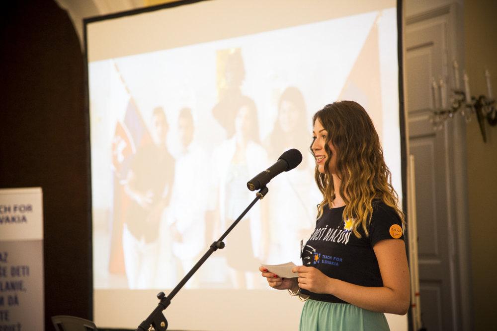 V rámci programu Teach for Slovakia si dva roky učila v Plaveckom Štvrtku e1c0ce49715