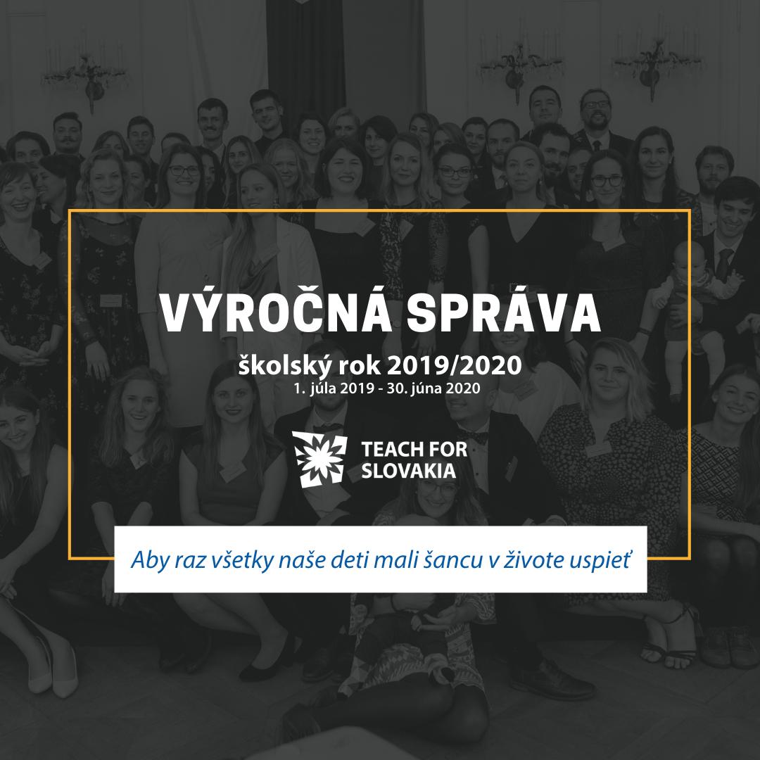 Vyrocna sprava Teach for Slovakia 19 20